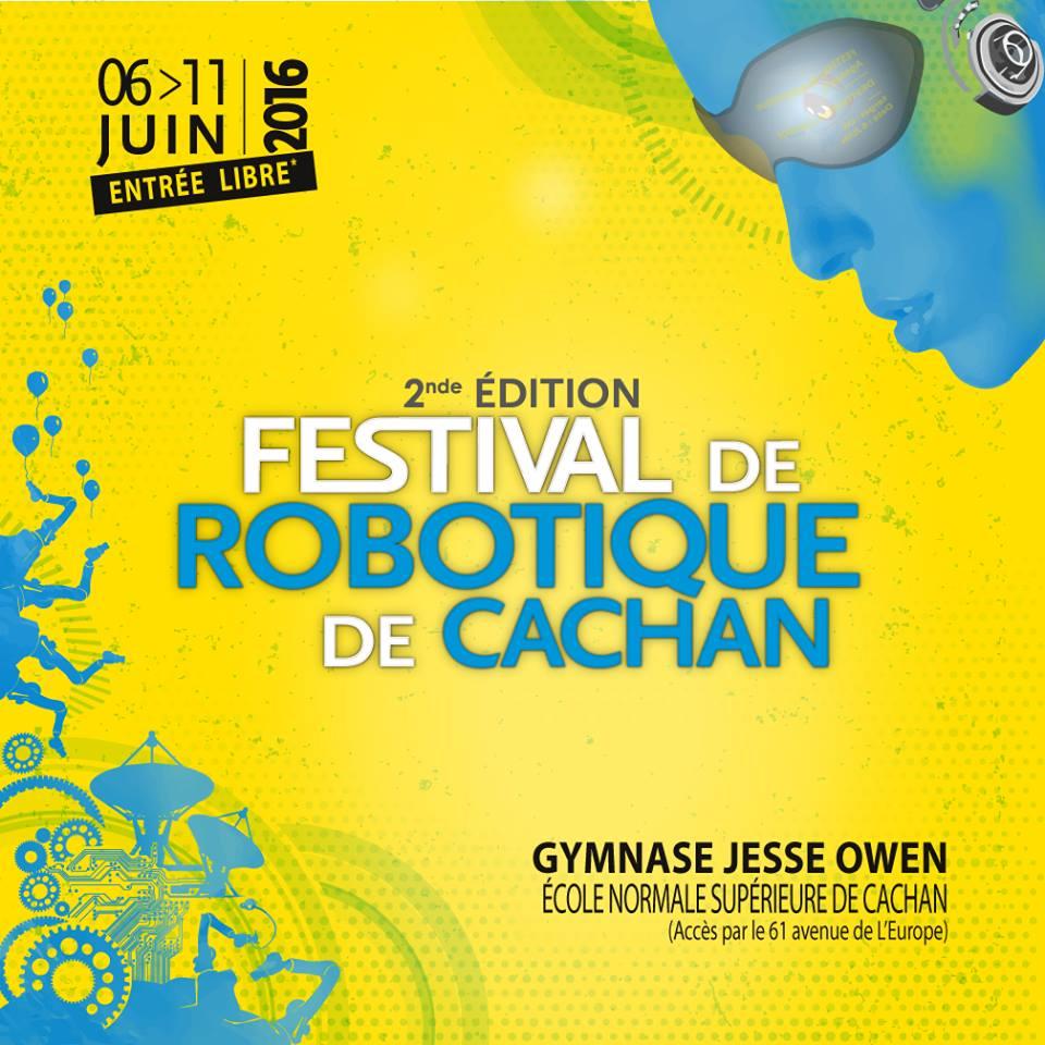 Festival Robotique Cachan 2016