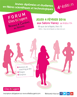 forum Reseaux Carrieres 2016 -  Elles Bougent